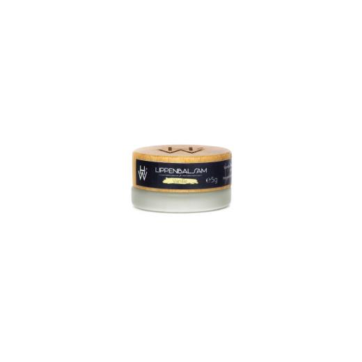 Pflegender und natürlicher Lippenbalsam mit einem Hauch von Vanille.