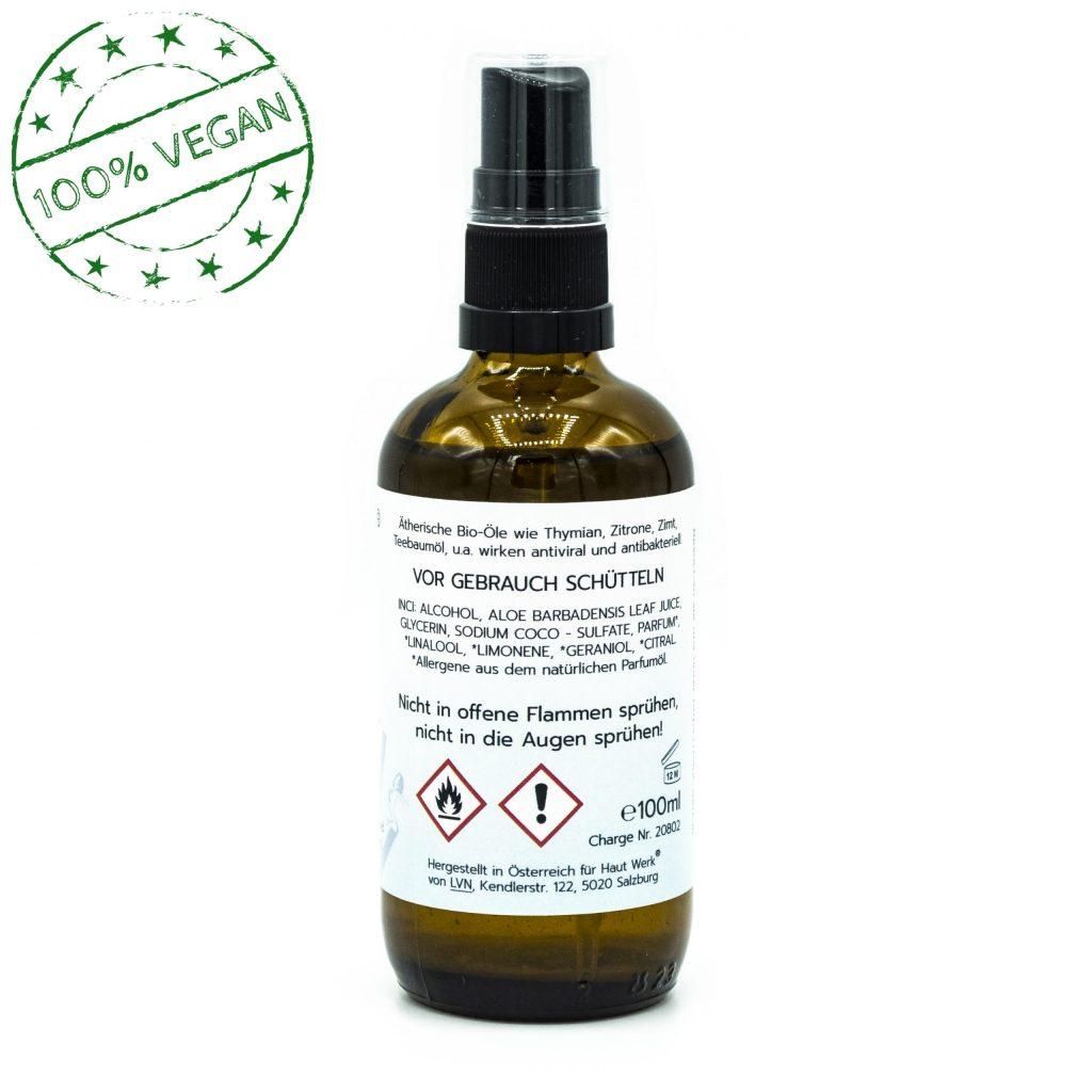 Desinfizierender Hygienespray für jede Situation