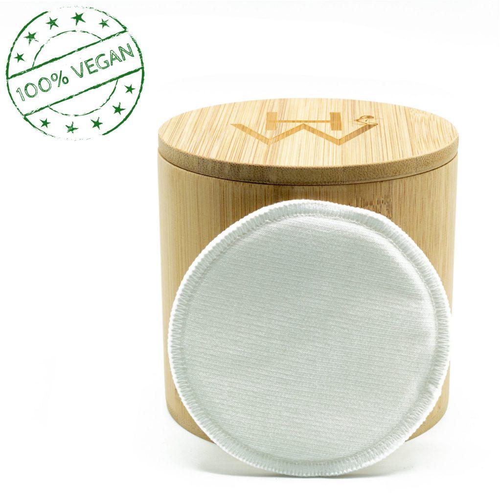 Abschminkpads Box Set inkl. 20 Pads + Waschbeutel