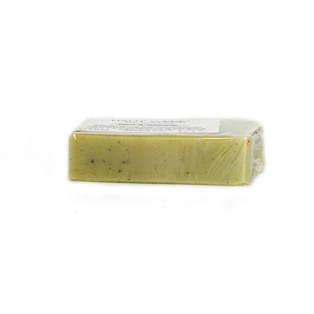 Hanf & Avocado - Handgeschöpfte und natürliche Seife von Haut Werk.